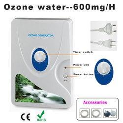 1 قطعة 600mg مولد أوزون لتنقية الهواء المعالج بالأوزون Ozonizador الأوزون أوزونو مكثف الأوكسجين المحمول تنقية المياه تعقيم
