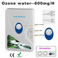 1pc 600mg générateur d'ozone purificateur d'air ozoniseur Ozonizador Ozone Ozono Portable concentrateur d'oxygène purification de l'eau stérilisant