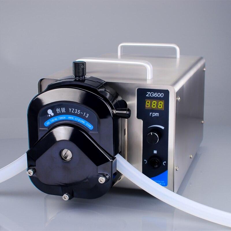 Mini Stainless Steel 220V 110V Laboratory Peristaltic Pump High Precision Food Grade Pharmaceutical Grade Liquid Filling Machine