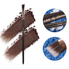 MY DESTINY Professional Angled Eyebrow Brush Eye Brow Makeup Brushes Make Up Tool Pinceis Maquiagem Pincel Pinceaux Brochas 048