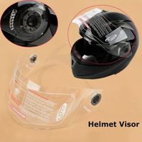 Replacement Motorcycle Clear Flip Up Helmet Dual Visor Full Face Shield ST 818