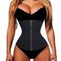 Women Zipper Waist Trainer Long Torso Body Shapers Waist Cincher Workout Corset Tummy Fat Burner Slimming Belt Waist Girdle