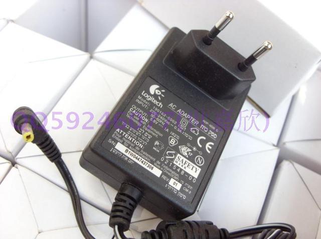 Logitech Genuíno 5.5 V 5.8 V AC plug adapter DA UE para o berço de Carregamento de Controle Remoto Harmony 1100 UM 900
