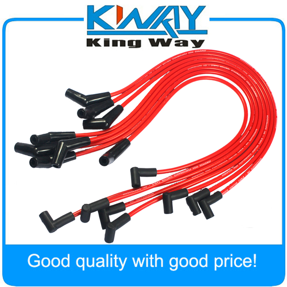 Jdmspeed Hei Red Spiral Core Spark Plug Wires 45 Degree End Accel Gm Wiring 8871 Fits For Bbc Chevy 396 427 454 502 In Ignition Cable Kit From Automobiles