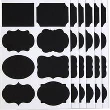 popular Custom Homestead 400 pcs Chalkboard Labels - Reusable Blackboard Stickers