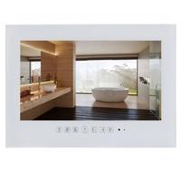 15 6 Inch IP66 Black Bathroom LED TV White Waterproof LED TV For Hotel Kitchen