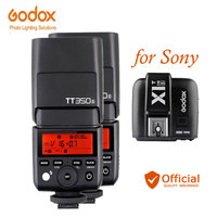 Godox tt350s Камера flash TTL HSS 1/8000 s 2.4 г Speedlite + передатчик для Sony a6000 a6300 A6500 a7rii A7R A58 A99 a77ii RX10 a7s