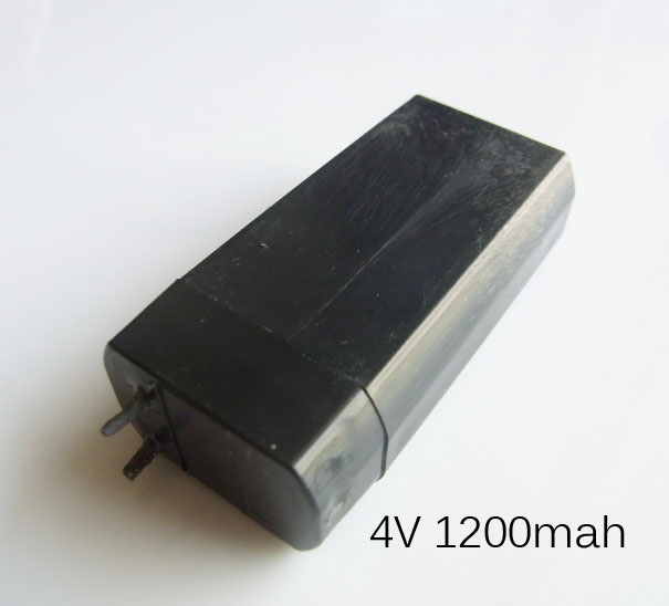 1-2PCS UNITEK 4V Lead Acid Rechargeable Battery Cell Maintenance Free  For LED Torch Flashlight Mosquito Swatter Killer Zapper