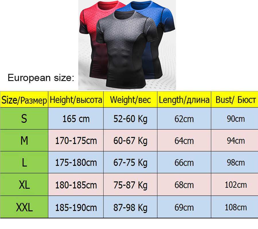 Berjalan Kemeja Pria Musim Panas Katun Polyester Gym Latihan Olahraga Lengan Pendek T-shirt CrossFit T Shirt Pria Kompresi Baju Top 3D