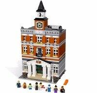 15003 Creators series the city hall model Building Blocks set compatible 10224 classic house architecture toys