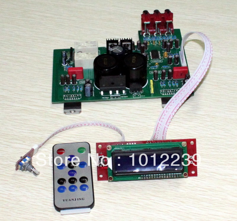 Assembled TDA7294 liquid crystal display remote control power amplifier board assembled cdrom controller kit with display remote control 0508 4
