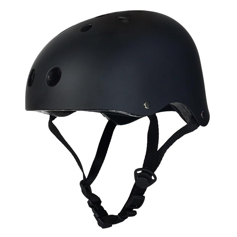 Schutzhelm Gastfreundlich Outdoor Schutzhelm Erwachsene Skateboard Helm Verstellbaren Trägern Schutz Skifahren Skate Bike Fahrradhelme Multi-color Online Rabatt