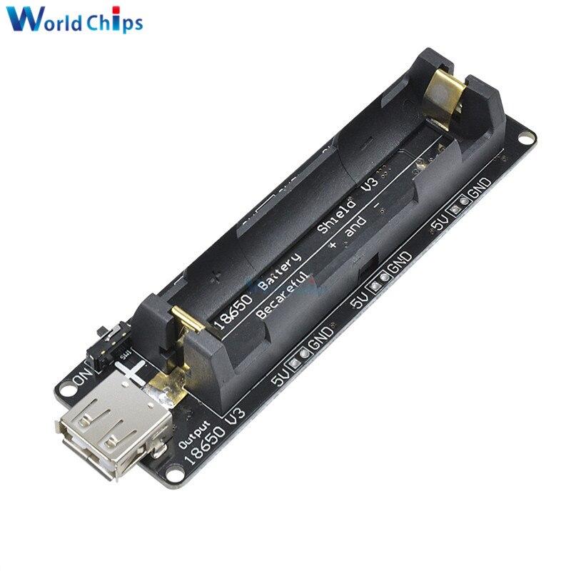 ESP-32 Wemos Micro USB ESP32 18650 Battery Shield V3 LED f Arduino Raspberry Pi