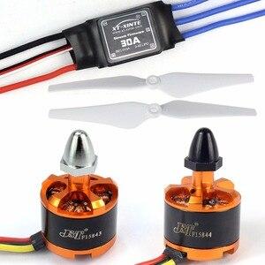 Image 4 - F14893 M Diy Rc Drone Quadrocopter Volledige Set X4M380L Frame Kit Apm 2.8 Gps AT9S Zender Ontvanger
