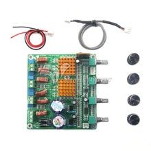 Bluetooth 4.0 приемник Цифрового 2.1 Класса D HIFI Усилитель Мощности Доска TPA3116D2 3CH Супер Басовый Усилитель лихорадка 100 Вт + 50 Вт + 50 Вт