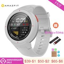 1 año de garantía Xiaomi Huami AMAZFIT punto reloj inteligente 3 GPS + Glonass HR IP68 390 mAh impermeable Multi- deportes Smartwatch de salud