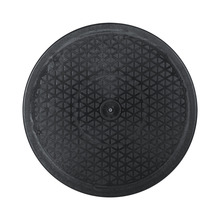 12 Inch Heavy Duty 360 Degree Rotating Swivel Stand for Monitor TV Turntable  Black Round Shape