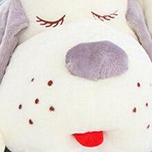 Large Stuffed Plush Animals Sleeping Dog Doll Cute Pillow Juguetes Perro Birthday Gift Almofadas Toys For