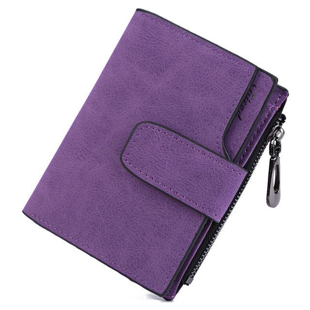 Short Wallet Credit Card Holder Coin Purse