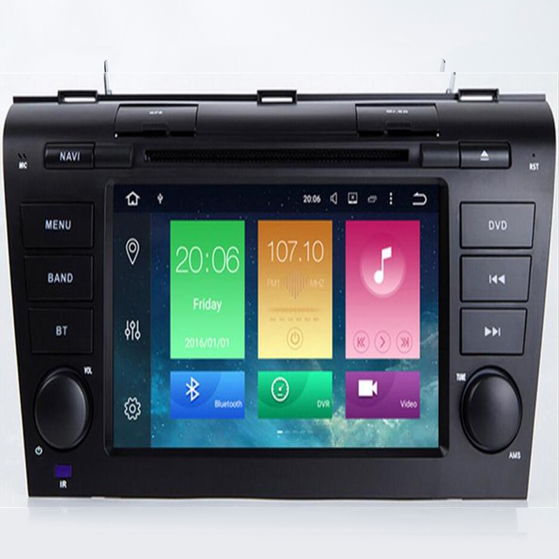 DSP IPS Android 9.0 4GB + 32GB + Octa 8 Core Car DVD Player <font><b>GPS</b></font> <font><b>Map</b></font> RDS Radio wifi Bluetooth 4.0 For <font><b>Mazda</b></font> <font><b>3</b></font> 2003 2004 - 2009 image