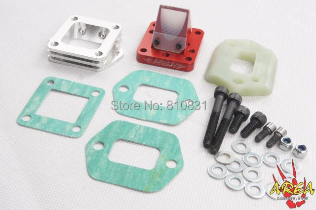 BAJA Rc reed valve system for CY Zenoah engine baja rc reed valve system for cy zenoah engine