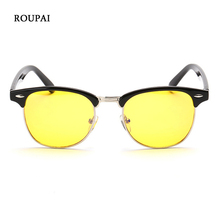 ROUPAI Eyeglass Frames Female Male Computer Goggles Anti Radiation-resistant Gaming Half Frame Eye Glasses For PC Eyeglasses