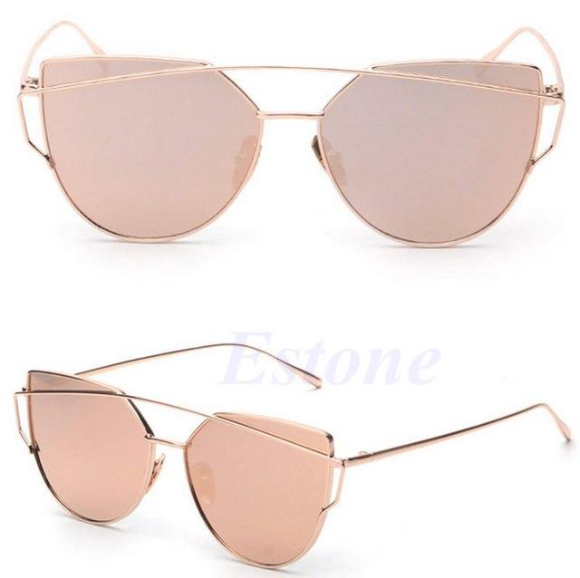 1e420b965 Retro Women's Gold Cat Eye Sunglasses Retro Classic Designer Vintage  Sunglasses Y107-in Sunglasses from Apparel Accessories on Aliexpress.com |  Alibaba ...