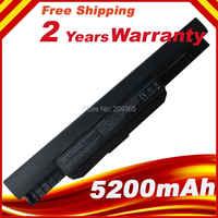 Batterie pour Asus A43SV K43S A53 K53B K53E K53SJ K53SD K53U K54LY A32-K53 A42-K53