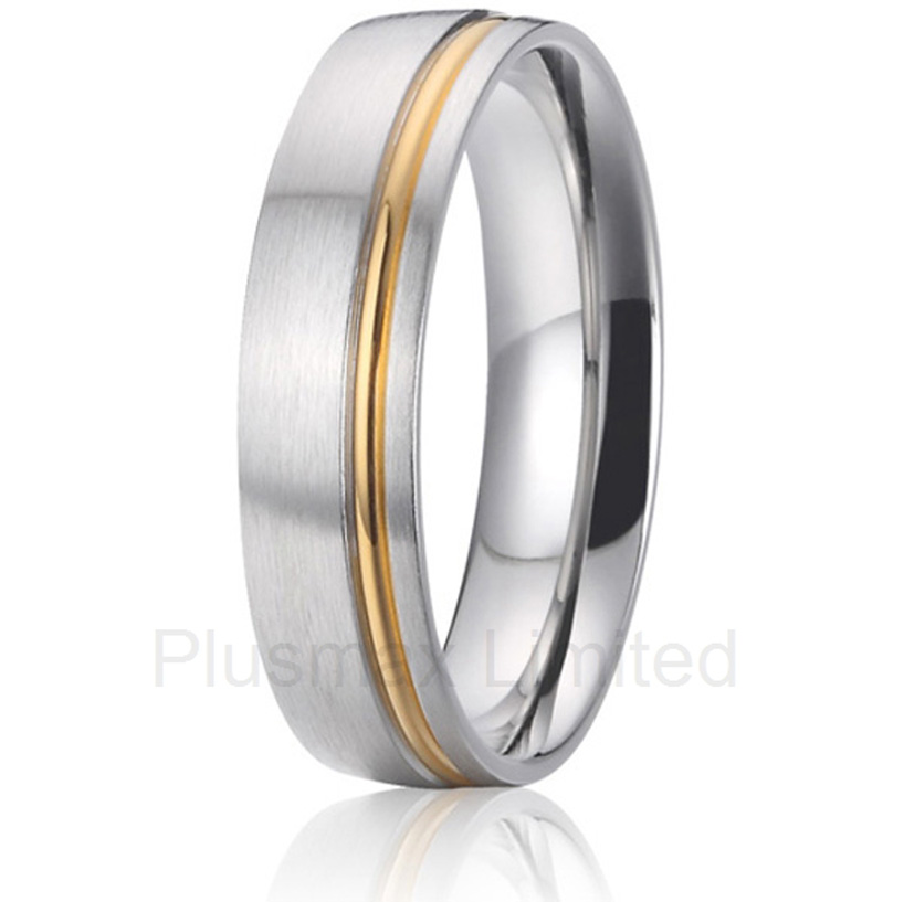 2016 China Manufacturer super substantial discount custom pure titanium rings for men