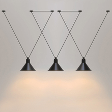 Лофт старинные подвесные светильники гладить шкив лампы бар Кухня украшения дома E27 Edison светильники Бесплатная доставка