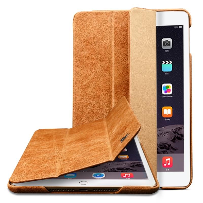 Jisoncase Luxury Ehtne nahast kaitseümbris iPad mini 2 3 jaoks Thin - Tahvelarvutite tarvikud - Foto 3