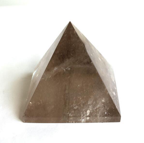 AAA+++++Natural Smoky Quartz Pyramid Tea Crystal Quartz Pyramid Ore Gems stone Energy stone Crystal Healing 28mm-35mm