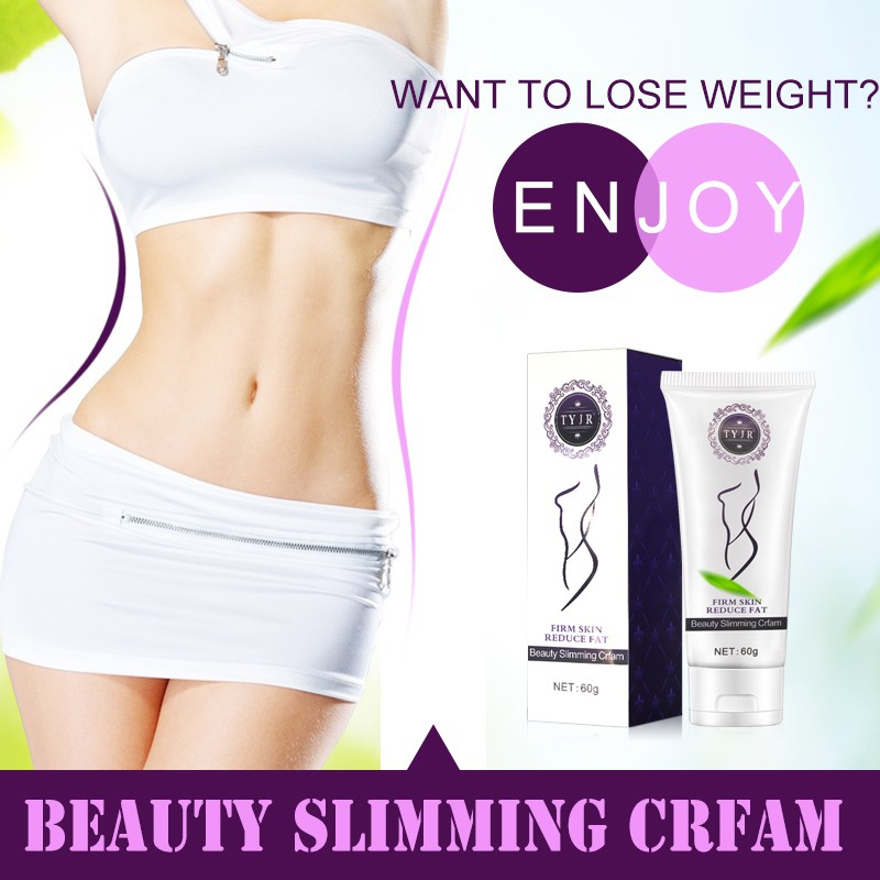 60g Lady Whole Body Fat Burning Slimming Body Cream Slimming Gel Weight Loss Cream Supplements Beautiful women image