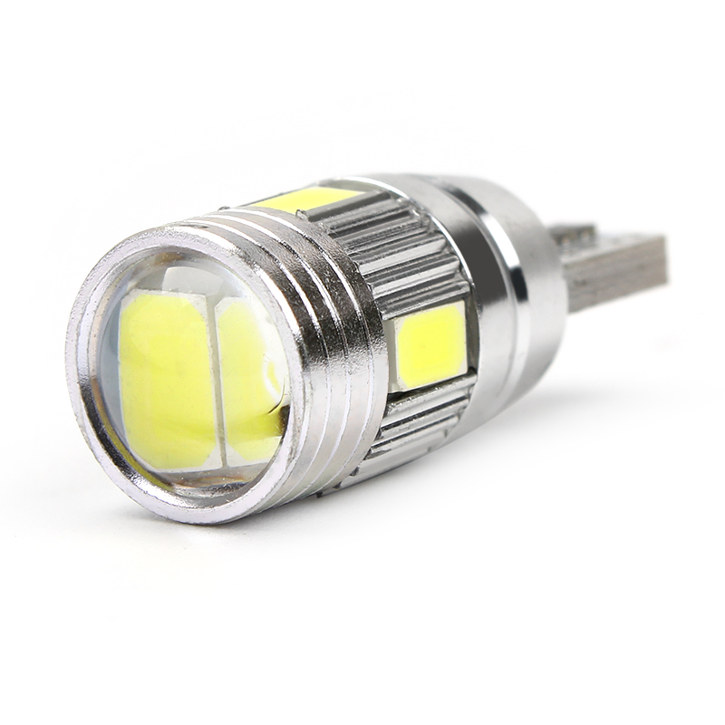 iTimo LED Fog Lights Car Styling Car License Plate Lights Universal 6 SMD Reading Lights T10 W5W 5630 5730