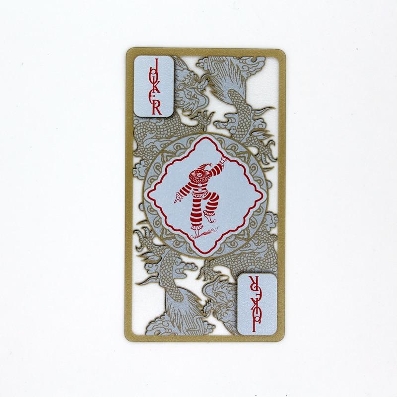 De alta calidad de plástico PVC poker impermeable transparente del ...