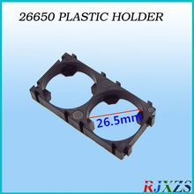 2PCS/alot 2S 26650 Battery Holder Bracket Cylindrical Battery Holder 26650 Holder Safety Anti Vibration Plastic Case Box(China)