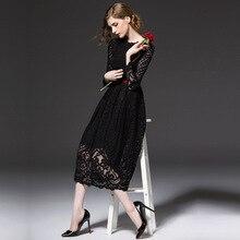 Новое весеннее платье с длинным рукавом и сексуальное кружевное платье длинное платье белое вечернее платье