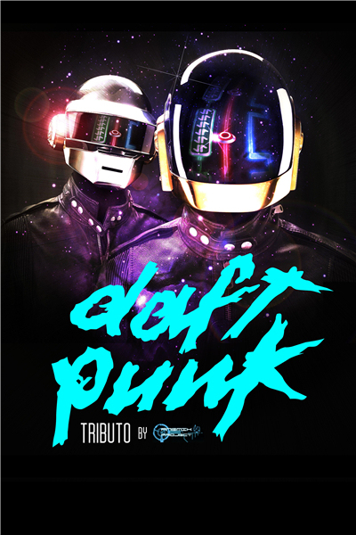 Custom Daft Punk Poster Helmet Sticker Black Mask Wallpaper DJ Star Music Band Wall