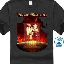 Yngwie Malmsteen Heavy Metal Guitar Hero Black T Shirt Size  S M L Xl  Xxl(China 85cb038a0e