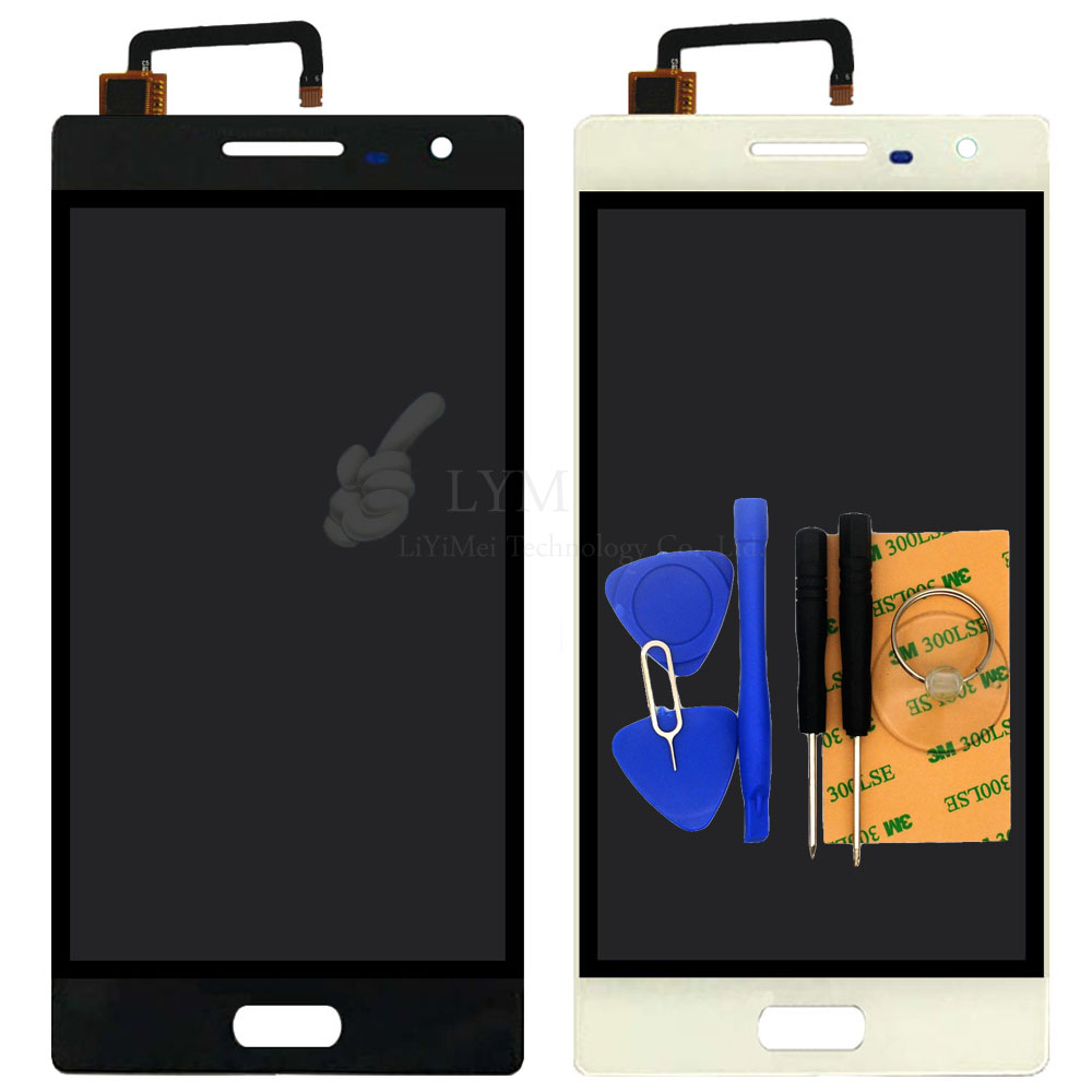 5 0 Black White LCD TP for Bluboo Xtouch X500 LCD Display Touch Screen Digitizer Assembly