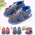 #1600 Fashion Boy Baby Don't peep-toe Soft Bottom Boy Toddler Sandals Sapatinhos Bebe Shoes