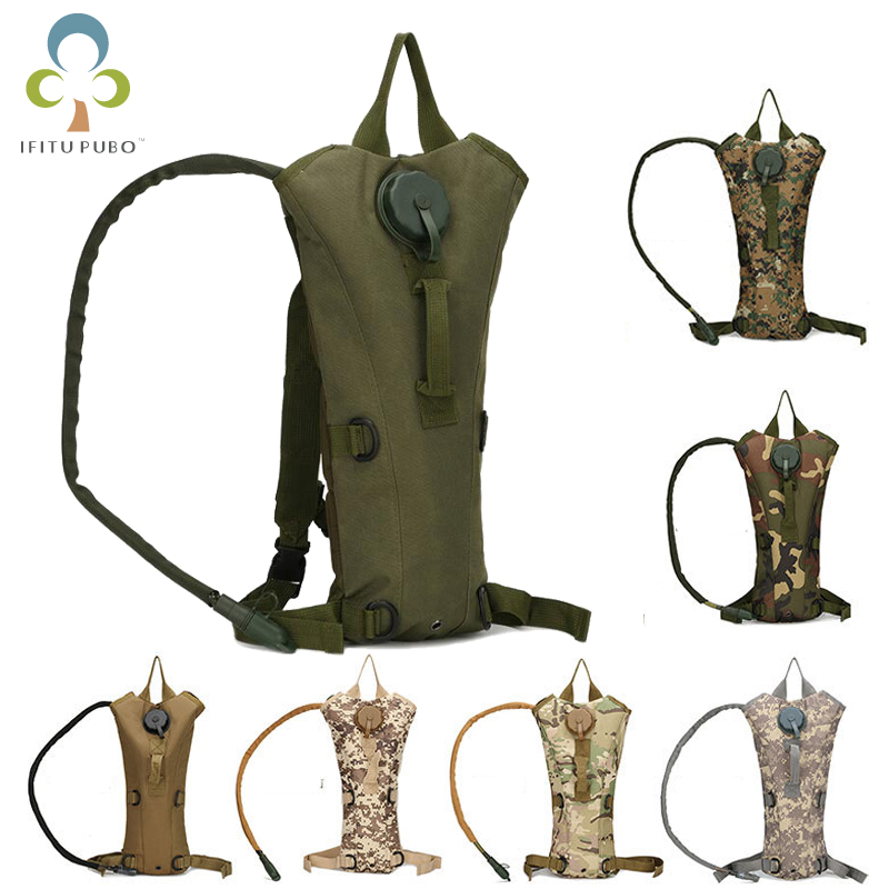 Sports & Entertainment Loyal 3l Water Bag Molle Military Tactical Hydration Backpack Outdoor Camping Camelback Nylon Water Bladder Bag For Cycling Gyh Water Bags