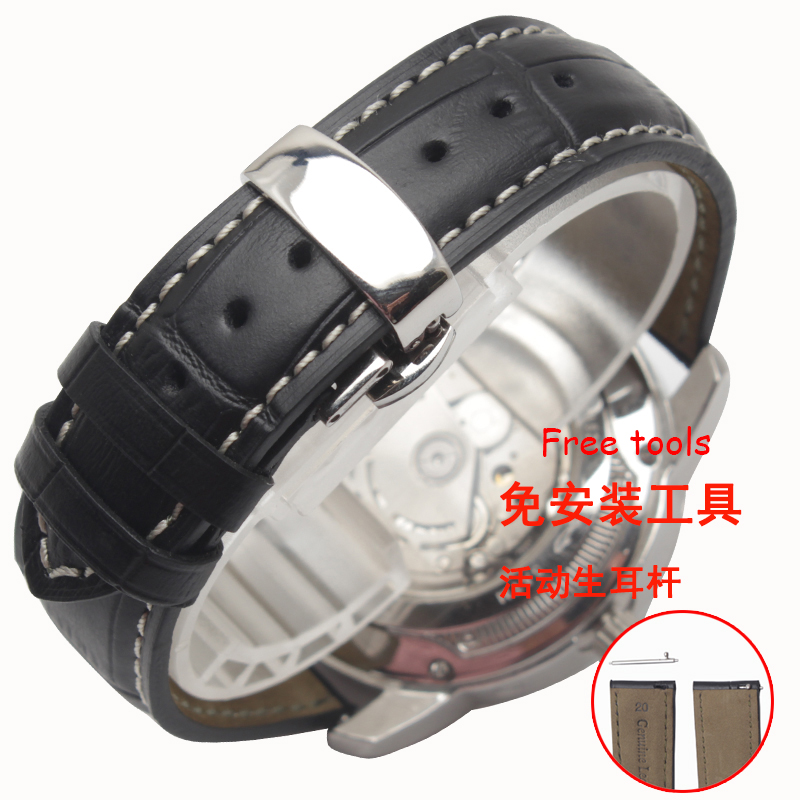 20mm 22mm Genuine leather Watchband for Samsung Gear S2 S3 Smart Watch Strap Bracelet for samsung gear s2 s3 smart wristband qiality pearl ceramics watchband 20mm 22mm black white bracelet