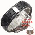 20mm 22mm pulseira de couro genuíno para samsung gear s2 s3 smart watch strap pulseira
