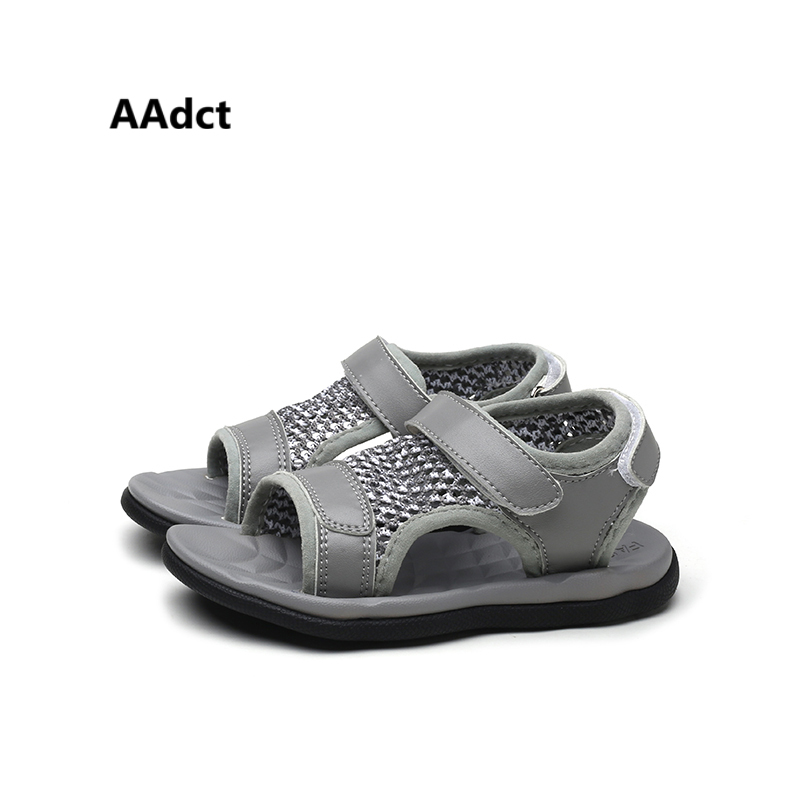 AAdct casual kids sandals for girls summer mesh boys sandals sports student children sandals