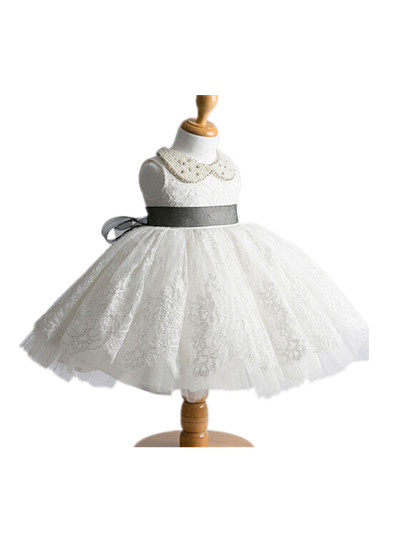 BABY WOW Flower Girl Dresses on Sale Girls Dresses Sweet Turn down Collar for Baby Newborn