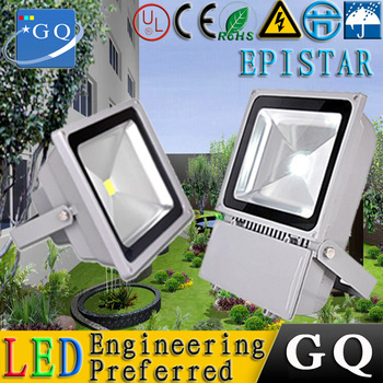 1 pz/lotto Ultrasottile 10-100 W IP65 Dimmable Driverless LED Flood Proiettore della Luce di via Lampada luce luminaireled FreeAC220-265V GQ LED Technology Lighting factory
