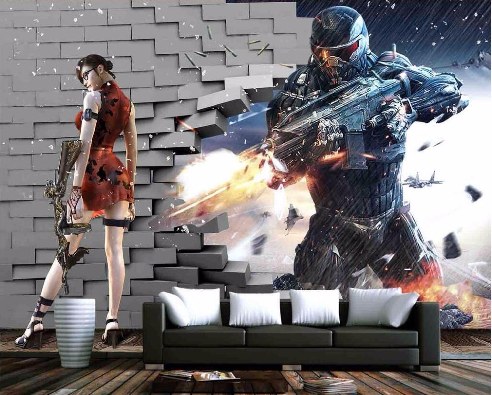 3d room wallpaper custom mural The game shooting decoration painting home improvement 3d wall murals wallpaper for walls 3 d custom mural 3d room wallpaper landscape sports car scenery wall papers home decor 3d wall murals wallpaper for walls 3 d