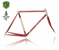 Reynolds 853 lug frame chrome molybdenum frame road bike racing frame within the frame alignment design Vintage Bicycle f