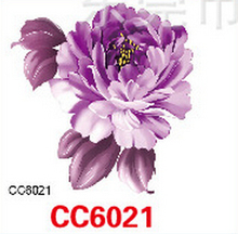Mini Body Art Waterproof Temporary Tattoos For Women Individuality Flower Design Flash Tattoo Sticker CC6021